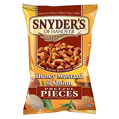 Snyders Honey Mustard & Onion Pretzel Pieces 56 g