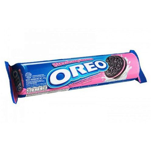 Oreo Roll Strawberry Creme 133 g