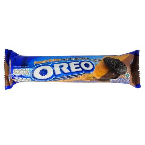 Oreo Roll Peanut Butter & Chocolate 133 g