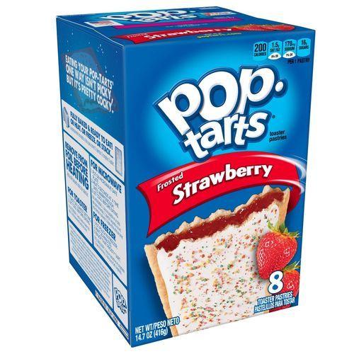 Pop Tarts Strawbery 384 g