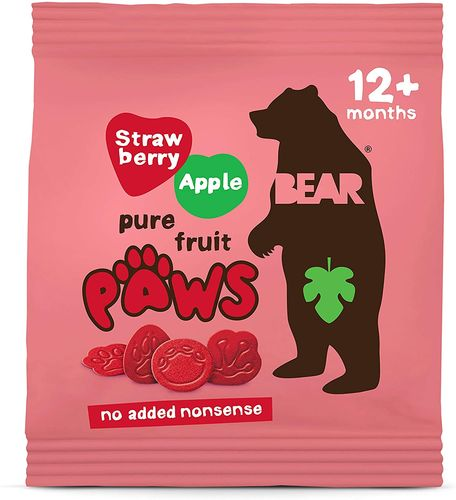 Bear Pure Fruit Paws Strawberry 100 g
