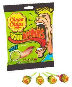 Chupa Chups Infernals Lollipop 114 g