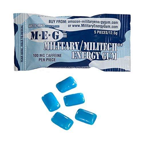Arctic Mint Military Energy Gum 13 g