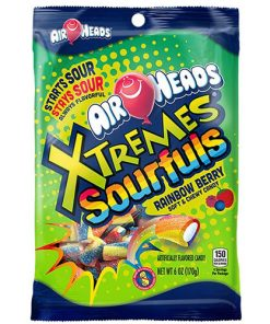 Airheads Xtreme Sourfuls Rainbow Berry 57 g