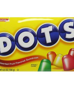 Tootsie Dots Fruit Flavored Gumdrops 184 g