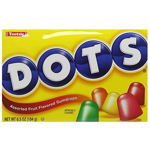 Tootsie Dots Fruit Flavored Gumdrops 184 g