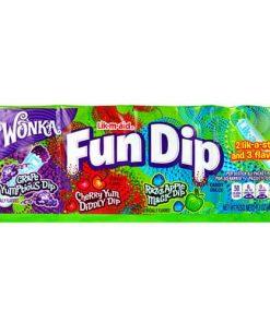 Wonka Fun Dip 3 Flavours 39 g