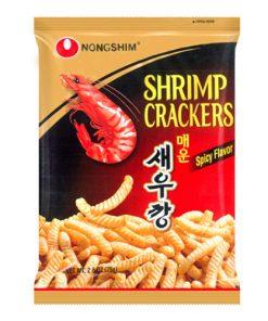 Nongshim Spicy Shrimp Chips 75 g