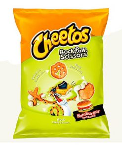 Cheetos Rock Paw Hamburger 85 g