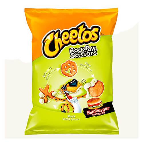 Cheetos Rock Paw Hamburger 85 g