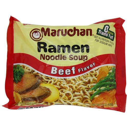 Maruchan Ramen Beef Noodle Soup 85 g