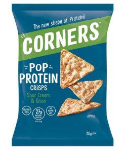 Pop Corners Protein Sour Cream Onion 85 g