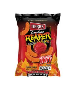 Herrs Carolina Reaper Cheese Curls 183 g