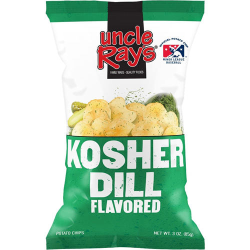 Uncle Rays Kosher Dill Chips 120 g