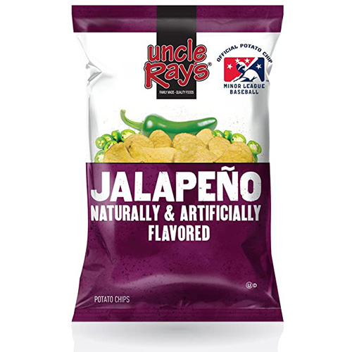 Uncle Rays Jalapeno Chips 120 g