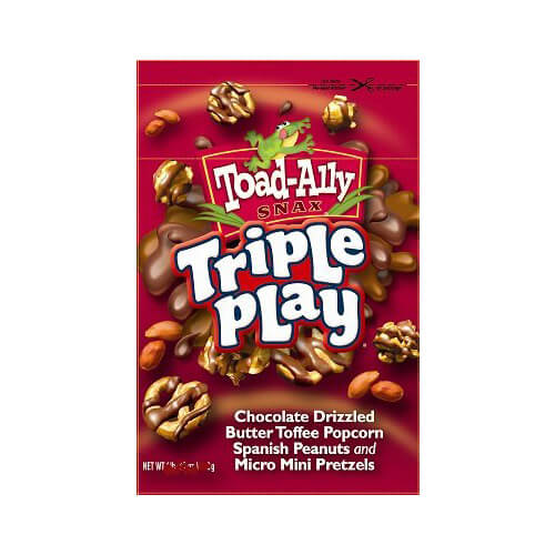 Toad Ally Triple Play Pretzels 85 g