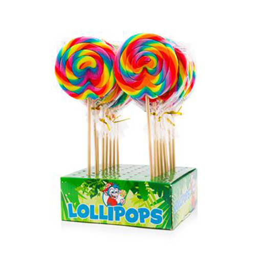 Felko Lolly Spiral Rainbow Maxi 100 g