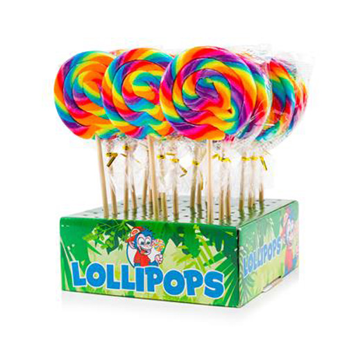 Felko Lolly Spiral Rainbow Normal 80 g