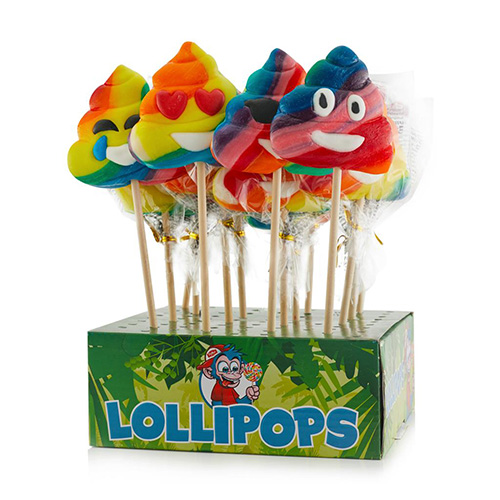 Felko Rainbow Poo Pops 65 g