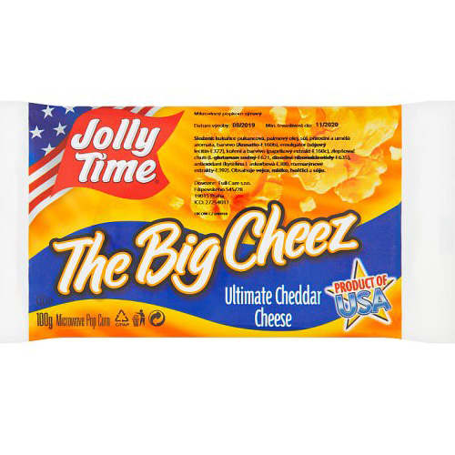 Jolly Time The Big Cheez Popcorn 100 g
