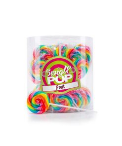 Swigle Pop Mini Rainbow Fruit 12 g