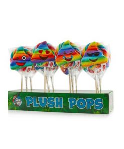 Felko Spiral Plush Pop Rainbow Poo 110 g