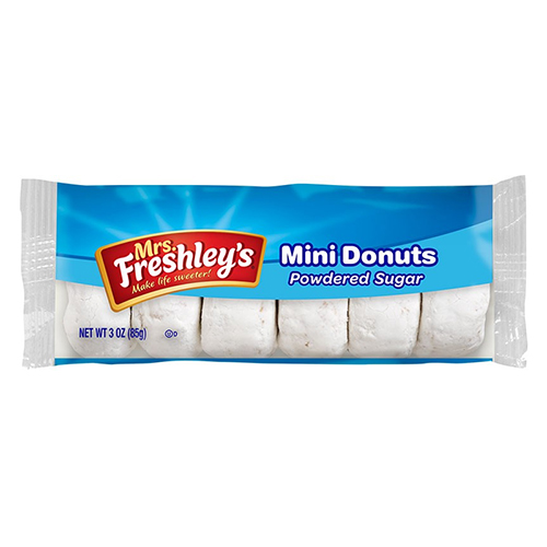Mrs. Freshley´s Powdered Mini Donuts 85 g