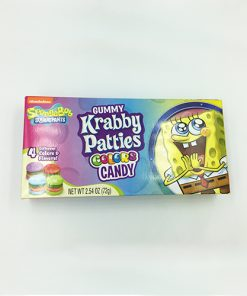 Spongebob Squarepants Gummy Krabby Patties Colors 72 g