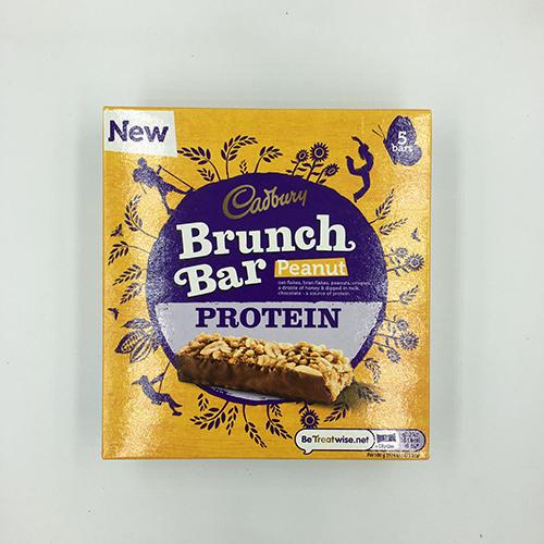 Cadbury Brunch Bar Peanut&Chocolate Protein 160 g