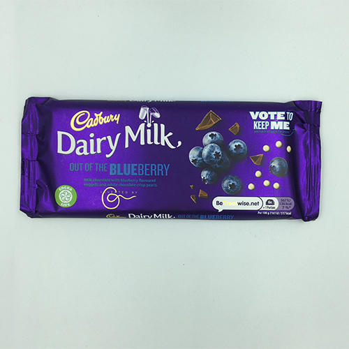 Cadbury Dairy Milk Blueberry Chocolate Bar 105 g