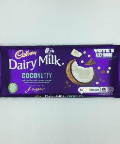Cadbury Dairy Milk Coconutty Chocolate Bar 105 g
