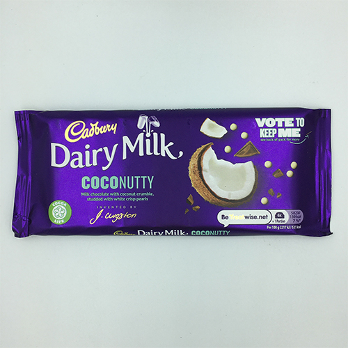 Cadbury Dairy Milk Coconutty Chocolate Bar 105 g