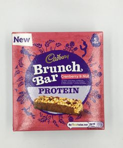 Cadbury Protein Brunch Bar Cranberry & Nut 5 Pack 160 g