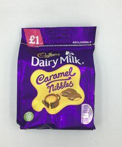 Cadbury Dairy Milk Caramel Nibbles Bag 95 g