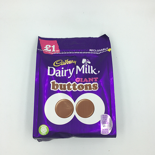 Cadbury Dairy Milk Giant Buttons Chocolate Bag 95 g