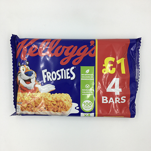 Kellogg's Frosties Cereal Bar 4 x 25 g