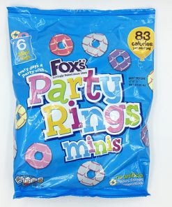 Fox's Party Rings Minis 6x21g