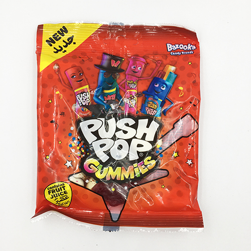 Bazooka Push Pop Gummies 120g