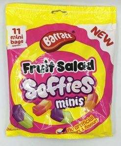 Barratt Fruit Salad Softies Mini Bags 176g