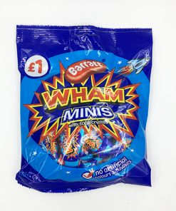 Barratt Wham Mini Chews with Sour Crystals 160g