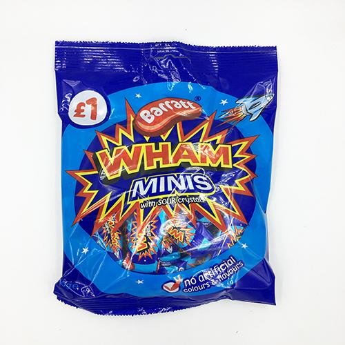 Barratt Wham Mini Chews with Sour Crystals 160g