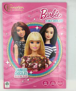 Kinnerton Barbie Adventný Kalendár 90 g