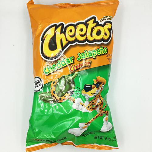 Cheetos Cheddar Jalapeno Crunchy 226