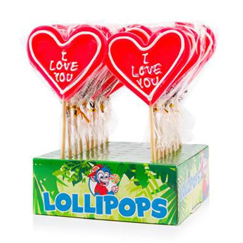 Felko Lolly Heart I Love You 80 g