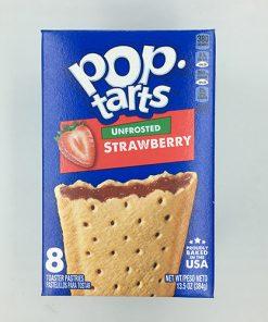 Pop Tarts Unfrosted Strawberry 384 g