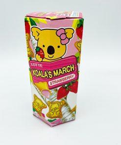 Lotte Koala´s March Strawberry 37 g