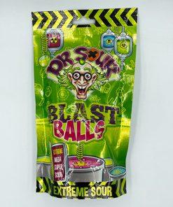 Dr. Sour Blast Balls Stand Up Bag 75 g